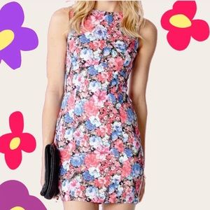 Forever21 bodycon floral party dress
